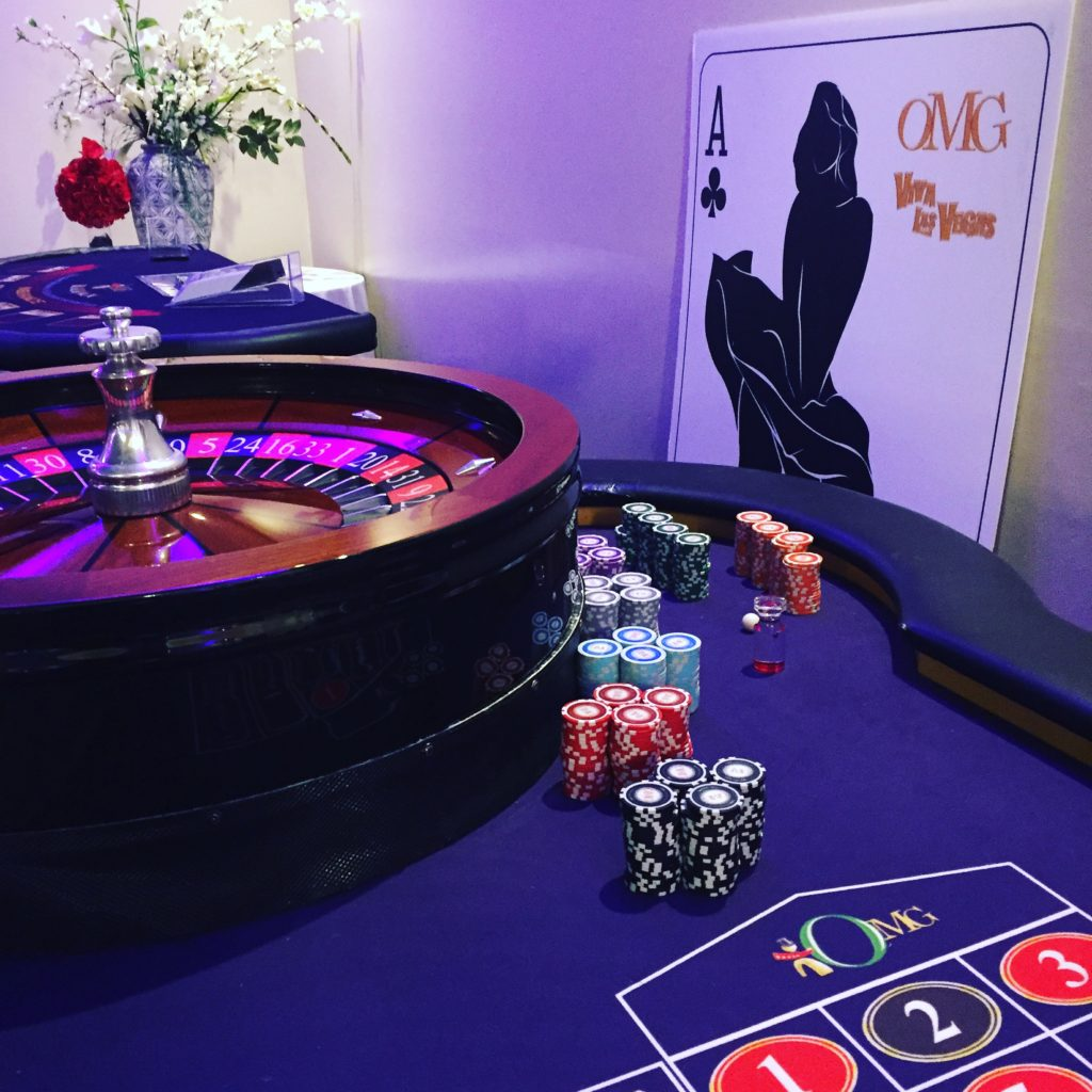 Casino props and tables
