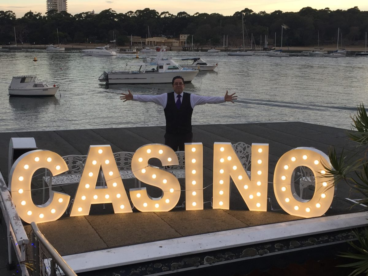 Casino Marquee Letters