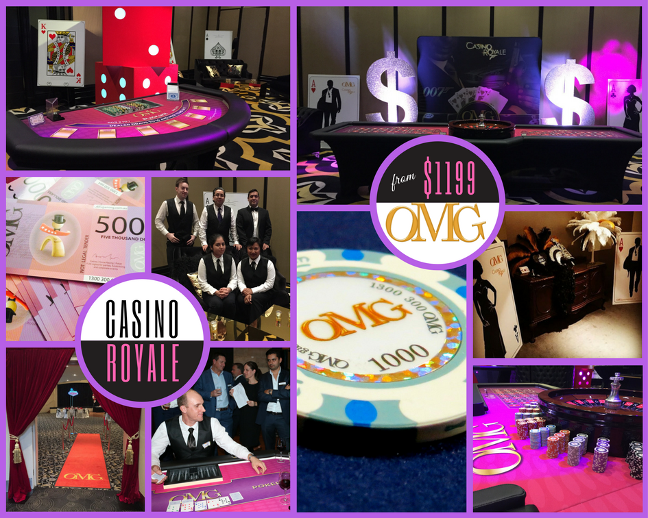 James Bond Casino Royale Theme Perth