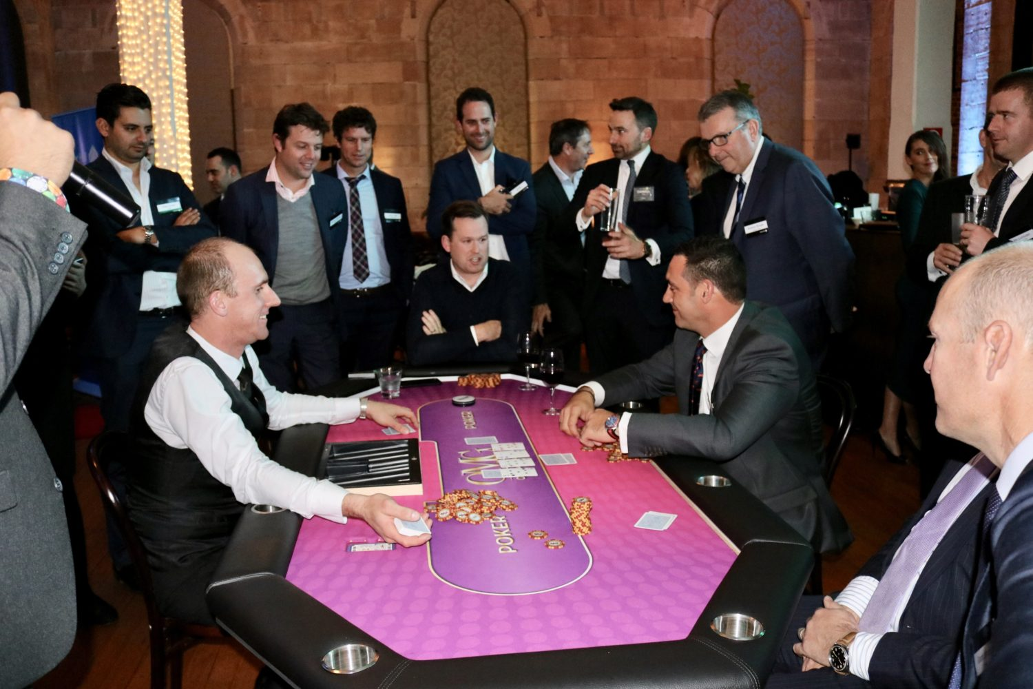 Corporate Poker Tournament Sydney