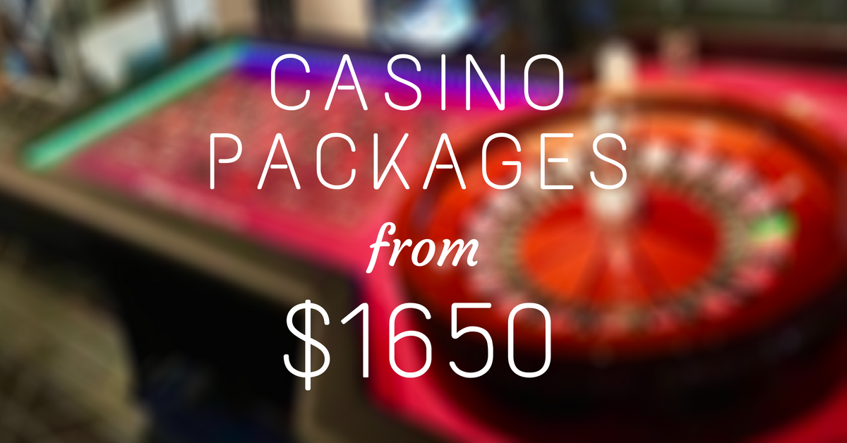 Casino Party Packages and Entertainment Newcastle
