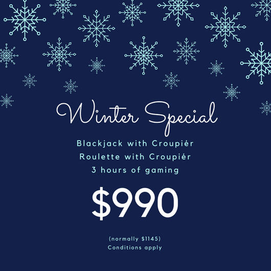 Entertainment Perth Casino Party Winter Specials