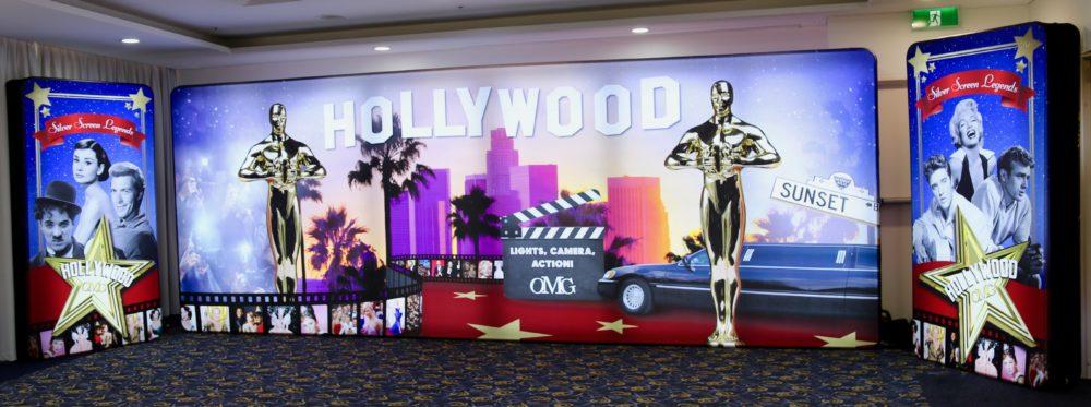 Hollywood LED Backdrop Set