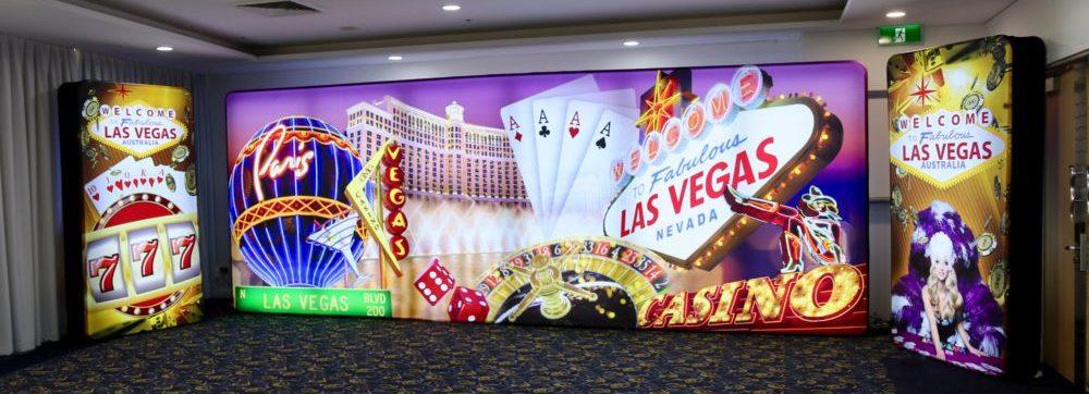Vegas LED Backdrop Set