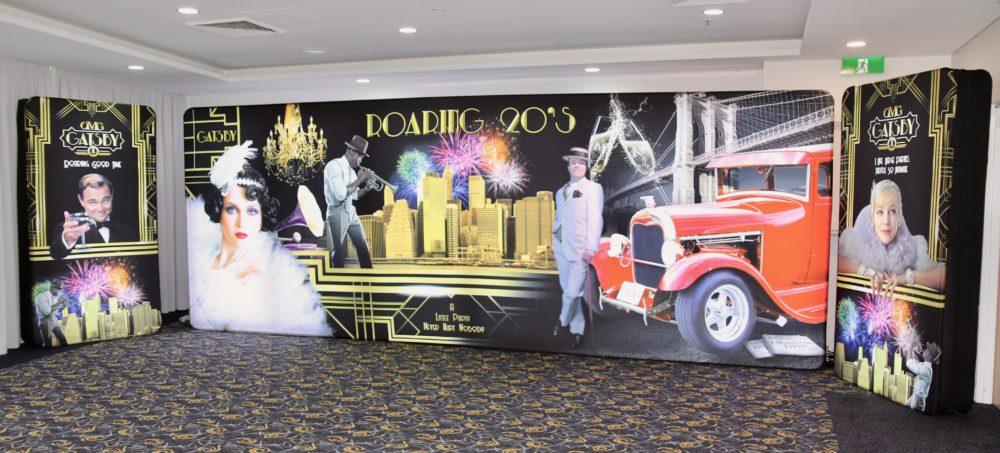 Gatsby 1920's LED Backdrop Set