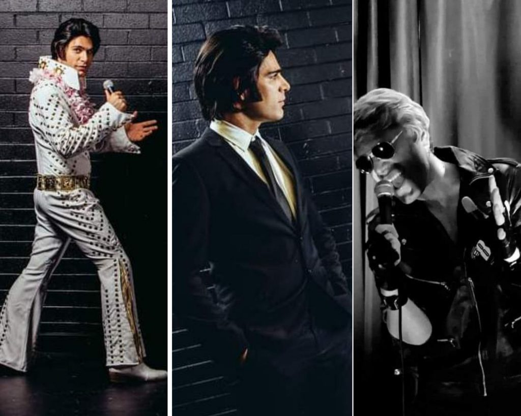 Elvis, Michael Buble and George Michael Impersonator